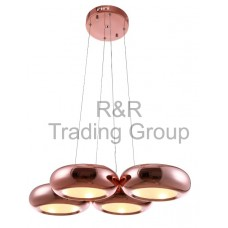 LUSTRA LED GOLD ROZE, 24W, 3200K